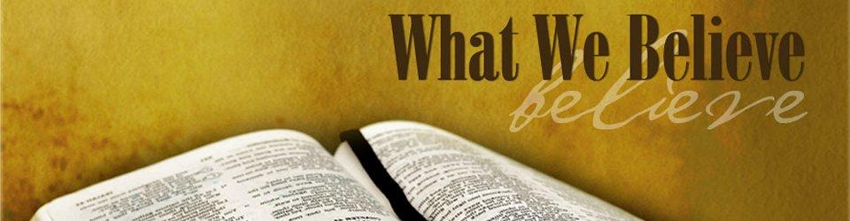Gospel Tabernacle Statement of Faith