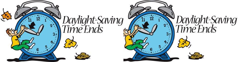 Gospel Tabernacle Daylight Savings Time Ends