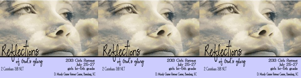 Gospel Tabernacle Girls Ministries Reflections