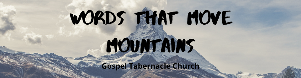 Words that Mountains
